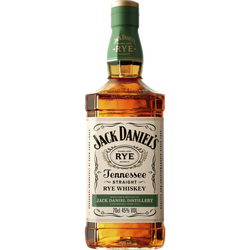 Tennessee Whiskey JACK DANIEL'S RYE, 45°, bouteille de 70cl