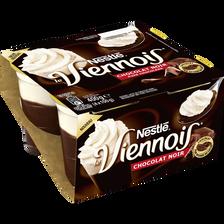Nestlé Dessert Lacté Au Chocolat Noir Le Viennois Nestle, 4x100g