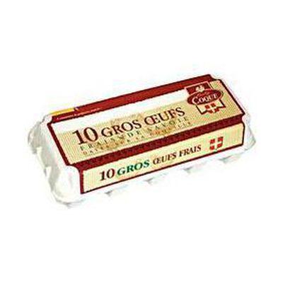 10 Gros oeufs frais de Savoie BABY COQUE