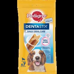 Friandise Dentastix pour chien moyen & grands PEDIGREE, 7 sticks, 180g