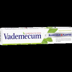Dentifrice blancheur et aux plantes VADEMECUM, tube de 75ml