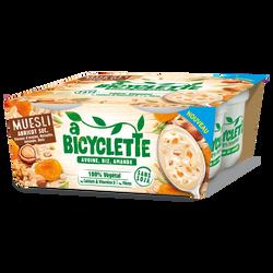 Spécialité base avoine riz amande muesli abricot A BICYCLETTE, 4x100g