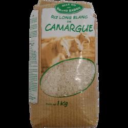 Riz long blanc de Camargue GRAND BADON, 1kg