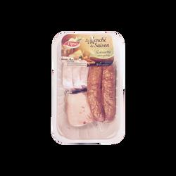 Mini potée 1kg (2 saucis.fum.,1 jarreton,1 pce maigre saum.), France