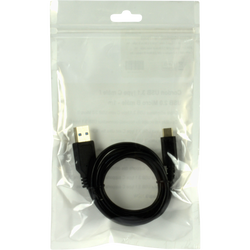 Cable usb 2.0 type c male/usb 2.0 micro b male 1m