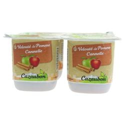 COMP POMME CANNELLE 4x125g