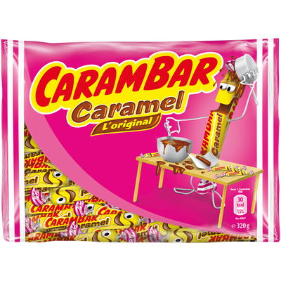 CARAMBAR caramel sachet 320g