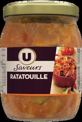 Ratatouille cuisinée en Provence U SAVEURS, 520g