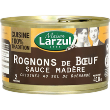 Rognons de boeuf sauce madère LARZUL, 410g