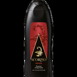 Gel douche Rouge SCORPIO, flacon de 250ml