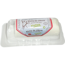 Bûche de chèvre frais pasteurisé 21% CHAVEGRAND, sous coque 150g