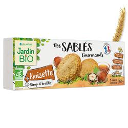 Sablé gourmand Noisette Sirop d'érable JARDIN BIO 150g