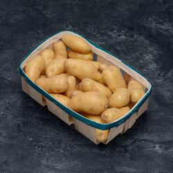 Pomme de terre Ratte, de consommation à chair ferme, calibre 20/120g,catégorie 1, France, barquette 1kg