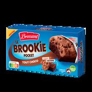 Brossard Cookies Au Chocolat Et Pépites De Chocolat Sur Gâteaux Au Chocolat Brossard, X4 Soit 184g