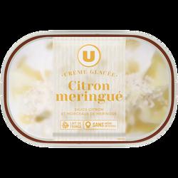 Bac crème glacée citron meringué U 484g