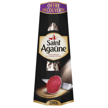 Saint Agaûne Saucisson De St Agaune 200g Offre Découverte