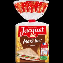 Pain de mie complet Maxi Jac' JACQUET, 550g