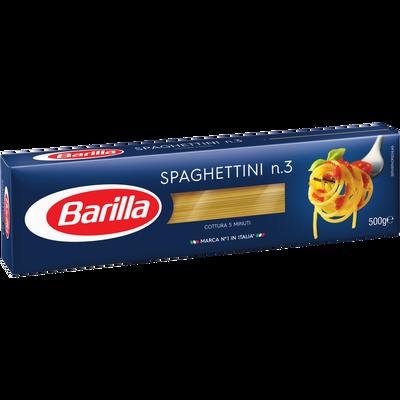 Spaghettini n°3 BARILLA, 500g