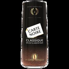 Café instant classic CARTE NOIRE, paquet de 100g