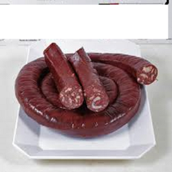 Boudin viande commenges