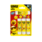 UHU Bâton De Colle Smiley Uhu, 8,2g, 4 Unités