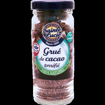 Grué de cacao torréfié flacon SAINTE LUCIE, 50g