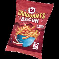 Croquant goût bacon U, sachet de 90g