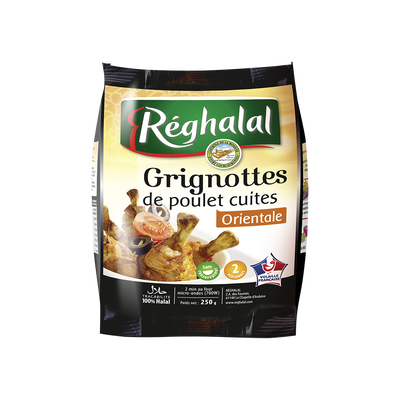 Grignotte orientale, REGHALAL, Sachet, 250g