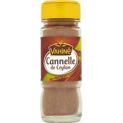 Cannelle de Ceylan moulue VAHINE, flacon de 35g