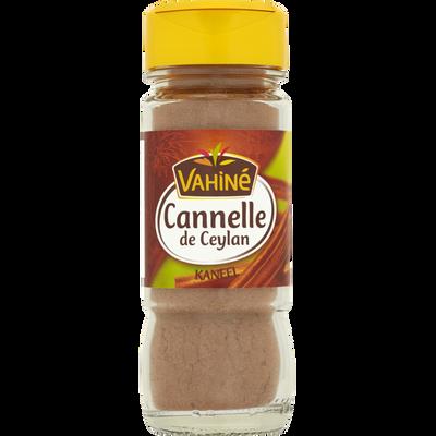 Cannelle de Ceylan moulue VAHINE, flacon de 35g