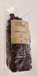 CRANBERRIES BIO 200GR