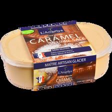 Crème Glacée Caramel au beurre salé L'ANGELYS, 450g