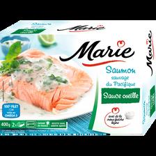 Saumon Atlantique sauce oseille crème fraîche légère MARIE, 400g