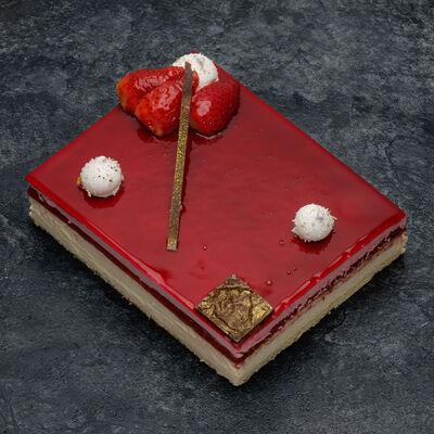 Gâteau Délicieux vanille fraise décongelé, 6 parts, 780g