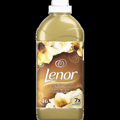 Assouplissant sensoriel souffle précieux LENOR, bidon de 1,15 litre, 46 doses