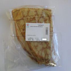 10 Crêpes de froment  maison , sachet de 500g