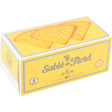 Le sablé du Nord pur beurre EUGENE BLOND, étui 165g