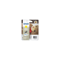 Cartouche d'encre EPSON pour imprimante, T0614 jaune Nounours, sous blister