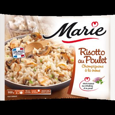 Risotto aux champignons et poulet à la crème MARIE, 900g