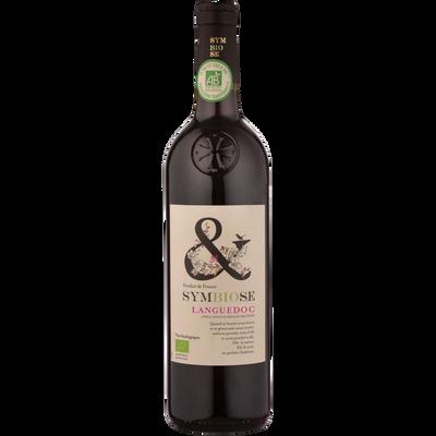 Coteaux du Languedoc AOP rouge Symbiose 2017 bio, 75cl