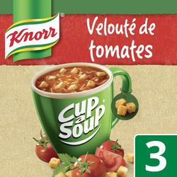 Velouté instantanée de tomates cup a soup KNORR, 3 portions de 18g