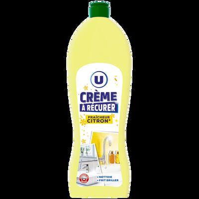 Crème à récurer fraîcheur citron U, flacon de 750ml