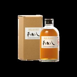 Whisky blend japonais AKASHI ,40°, bouteille de 50cl sous étui