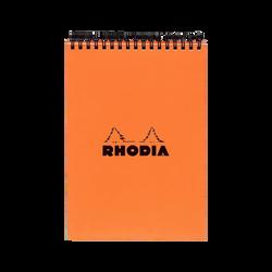 Bloc reliure intégrale RODHIA, microperforé, petits carreaux, 14,8x21cm, 160 pages