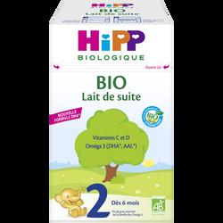 HIPP 2ème âge de suite bio dès 6 mois boîte 700g
