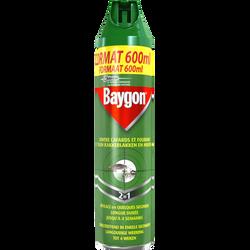 Insecticide anti-rampants BAYGON, aérosol de 600ml