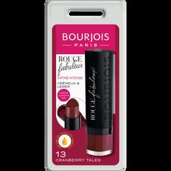 Rouge à lèvres fabuleux 013 cranberry tales BOURJOIS, blister, 2,4gr