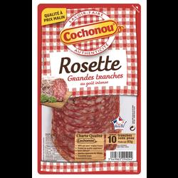 Rosette qualité supérieur Viande Production Française COCHONOU, x10 tra