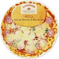 Pizza jésus de Morteau et bleu de Gex