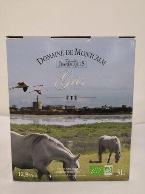 IGP Sable de Camargue BIO - Domaine Montcalm Gris - BIB 3L